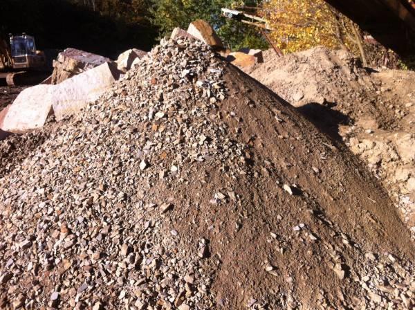 Sandsteinfüllboden, 0 - 32mm