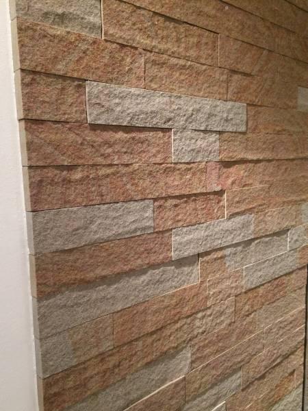 Mauerwerk-Verblender, geflammt