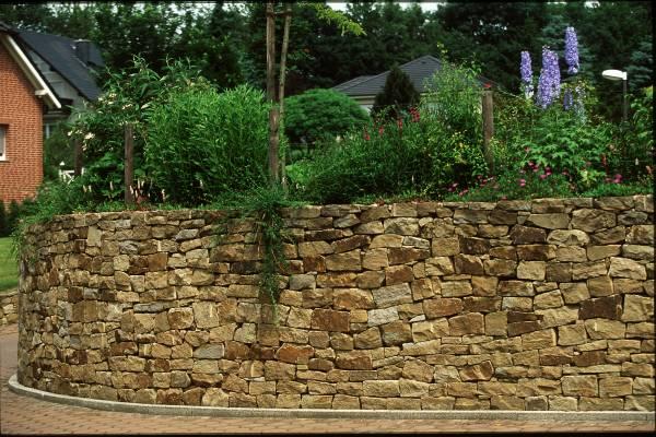 Trockenmauersteine, unregelmäßig (unsortiert)